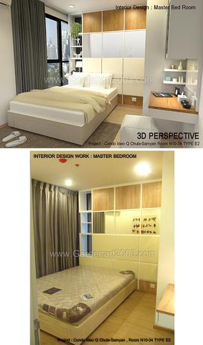 INTERIOR DESIGN : MASTER BEDROOM