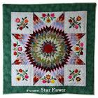 ผ้านวม ลาย Star Flower