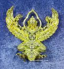 พญาครุฑพุทธบูชา รุ่น เศรษฐีมหาเศรษฐี วัดครุฑธาราม พระนครศรีอยุธยา เนื้อทองเบญจา ปี 2561