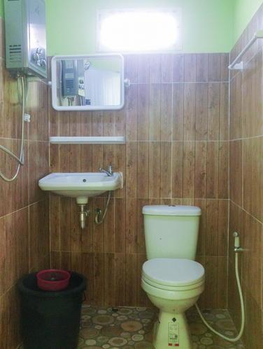 ห้องน้ำในตัว พร้อมความสะดวกครบครัน