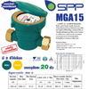 """มิเตอร์น้ำตัวเหล็ก SPP(ระบบเฟือง 1 ชั้น) ขนาด1/2"""" (15mm)"""