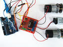 arduino ขับ Dual H-Bridge Motor Driver