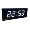 GooAB Shop นาฬิกา LED ติดฝาผนัง แสดงเฉพาะตัวเลขตัวเลข 3 นิ้ว ขนาด 15 นิ้ว พร้อมระบบตั้งเวลา  ไฟสีขาว