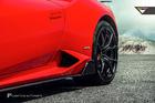 สเกิร์ตข้าง Carbon Fiber Lamborghini HURACAN LP610-4 ทรง Vorsteiner