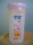 แก้วเชค หมีพู ฝามีช่องใส่หลอด ฝาปิดแน่นสนิด น้ำไม่รั่วซึม