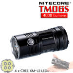 ไฟฉาย Nitecore TM06S 4000 Lumens สี่ตาบัาพลัง