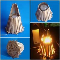 DIY โคมไฟแห่งรัก