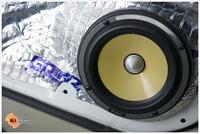 CivicFc Turbo Rs เคยเข้ามาอัพเกรดระบบเครื่องเสียงไปแล้วเป็นระบบ Hi-power รอบนี้เข้ามาต้องการอัพเกรดให้เสียงดีขึ้น โดยยังคงแนวทางการใช้ระบบ Hi-power (ใช้ภาคขยายในตัววิทยุเป็นตัวขับลำโพง)