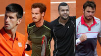 4 คนสุดท้ายเทนนิสชาย เฟรนช์ โอเพ่น 2015