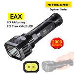 ไฟฉาย Nitecore EAX 2000 lumens (AA*8 ก้อน)