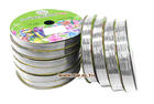 ริบบิ้นพลาสติกเลเซอร์12 mm. No.101  50yds. สีเงิน