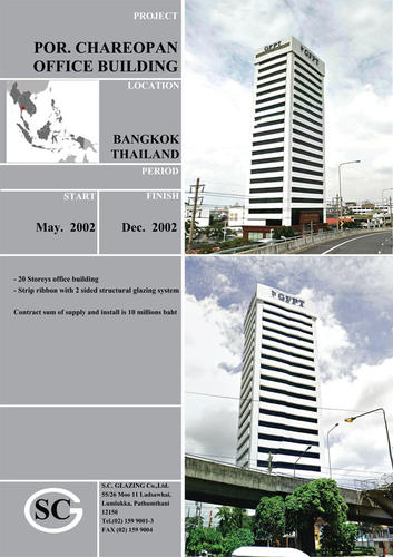 Por.Chareopan office building