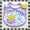 ผ้ากันเปื้อน Carter's ลาย Mommy's Little Star