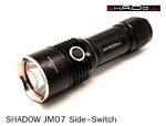 ไฟฉาย Shadow JM07 Side-Switch XM-L T6 700LM