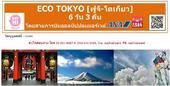 Eco Tokyo (ฟูจิ-โตเกียว) 6D3N เพียง 39,900 บาท (ANA)