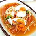NO. SS35 ตำไทยไข่เค็ม (Thai style papaya salad with Salt Egg)