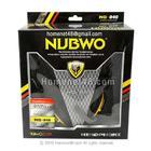 หูฟังบุฟองน้ำทรงกลม+ไมค์ ที่คาดหุ้มยาง เหลือง-ดำ NUBWO 040 (ดูราคาส่งด้านใน)