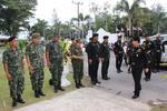 ผบ.นรด.ตรวจเยี่ยมการฝึกของนักศึกษาวิชาทหาร ศูนย์ฝึกค่ายวชิราวุธ ประจำปีการศึกษา ๒๕๕๘