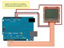 arduino ติดต่อ NOKIA 5110  LCD
