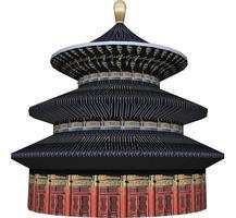รวมภาพความคืบหน้าการก่อสร้างหอเทียนฟ้าและวิหารพระพุทธเจ้า9พระองค์