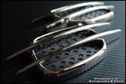 Chrome Side Vent Fender