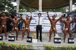อาหารเสริม ON OPTIMUM NUTRITION ร่วมสนับสนุนการแข่งขันกีฬาเพาะกาย แมนโมเดล (Man Model)