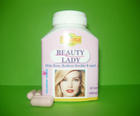 ยาบำรุงสตรีเพื่อความงาม ลดสิวฝ้ากระ รอยเหี่ยวย่น BEAUTY LADY (30แคปซูล)