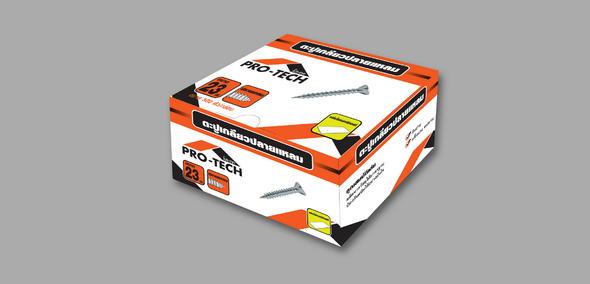 งานออกแบบ Packaging Pro-Tech 3