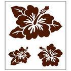 แผ่น Stamp ยาง Hawaiian Collection แบบ A