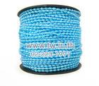 มุกเส้น 3mm.(50yds) สีฟ้ารุ้ง(5/R)