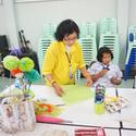 สอนประดิษฐ์ดอกคาร์เนชั่น จากวิทยากรนอกโรงเรียน