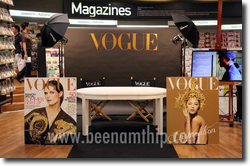 Vogue Thailand Signing event