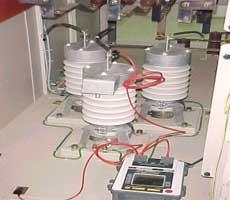 Insulation Resistance Test Of 22 kV Surge Arrester
