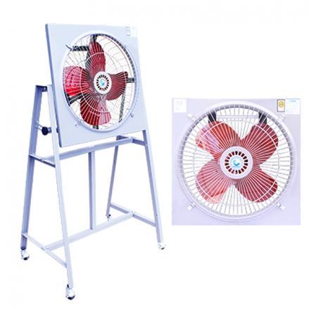 พัดลมอุตสาหกรรมใบแดงแบบมอเตอร์ขับตรง (Industrial Fan Direct Drive)