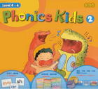 DVD Phonics Kids 2 มี 6 แผ่น ราคา 280.- #PH06#