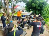 โครงการฝึกอบรม ทบทวน เพื่อพัฒนาศักยภาพเจ้าหน้าที่กู้ชีพกู้ภัย