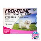 ยากำจัดเห็บ หมัด Frontline Spot On Plus น้ำหนักน้อยกว่า 5 กิโลกรัม อายุ 8 สัปดาห์ขึ้นไป