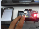 Arduino + Internet Shield +LED