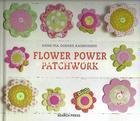 หนังสืองานฝีมือต่างประเทศ Flower Power Patchwork 25 ชิ้นงาน ภาษาอังกฤษ