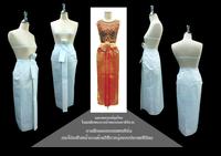กระโปรงจับจีบหน้านาง : National Thai Skirt