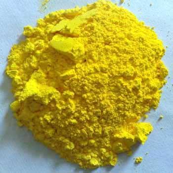 Chrome yellow pigment