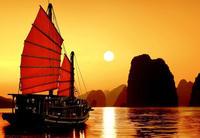 ล่องเรือใบชมพระอาทิตย์ตกอ่าวพังงา