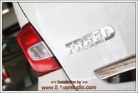 Honda Freed ติดตั้งจอ Pioneer พร้อมกล้องมองหลัง Concept