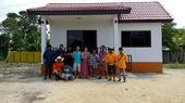 ผลงานสร้างบ้านอยู่อาศัย ลูกค้า ต.ไร่รถ อ.ดอนเจดีย์ จ.สุพรรณบุรี