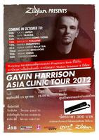 GAVIN HARRISON ASIA CLINIC TOUR 2012