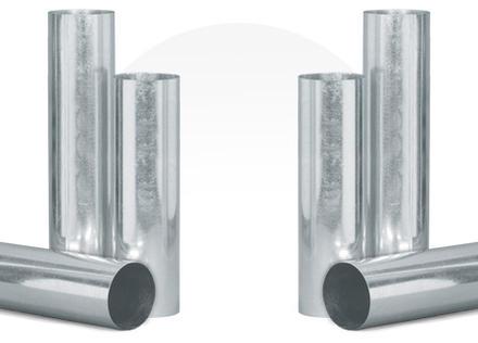 ท่อกลมตะเข็บเดียวและข้อต่อ (Long Seam Duct & Fitting)