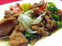 NO. SF32 หมูผัดพริกไทยดำ (Stir fried with black pepper pork)