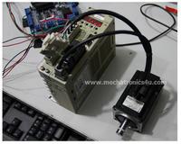 การใช้งาน Servo motor YASKAWA Sigma II SGMAH Series, Position control
