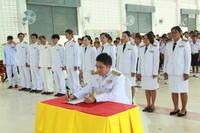 พิธีลงนามถวายพระพรชัยมงคลและถวายราชสดุดี เนื่องในวโรกาสวันเฉลิมพระชนมพรรษา  สมเด็จพระนางเจ้าฯ พระบรมราชินีนาถ โรงเรียนโนนคร้อวิทยา