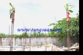 ยกเสาเอก แหลมฉบัง ชลบุรี